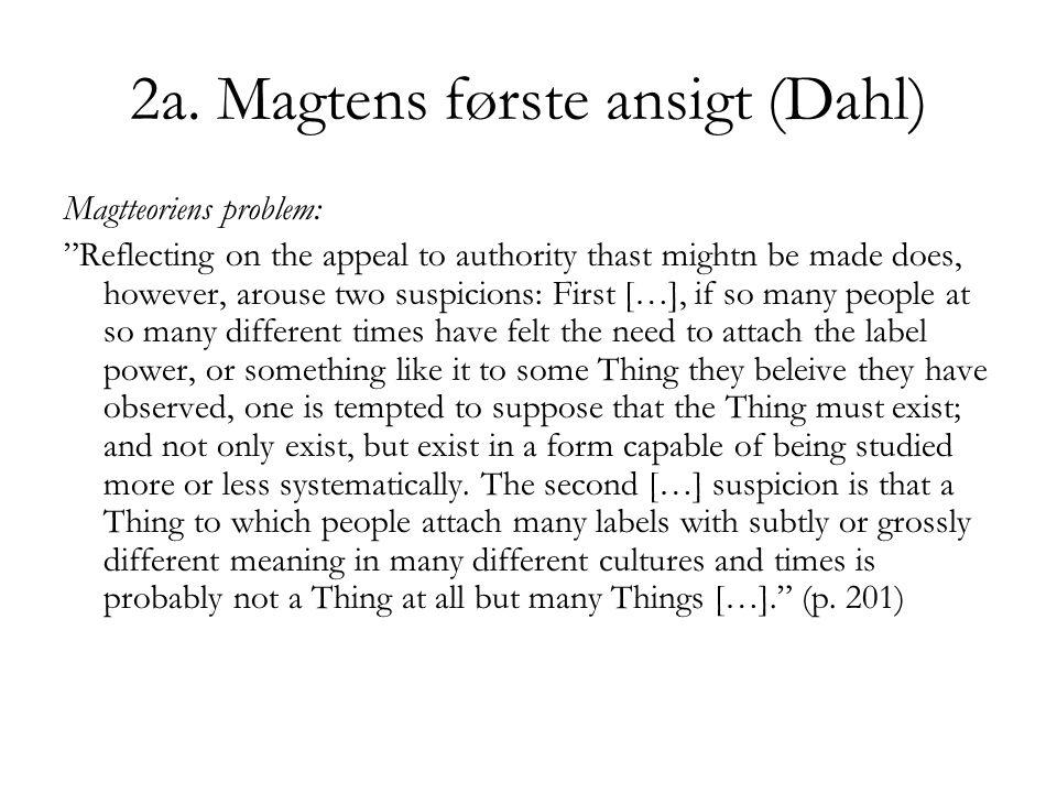 2a. Magtens første ansigt (Dahl)
