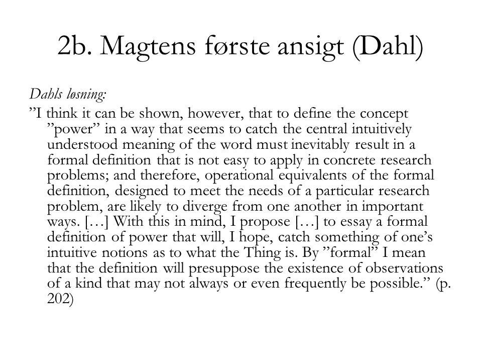 2b. Magtens første ansigt (Dahl)