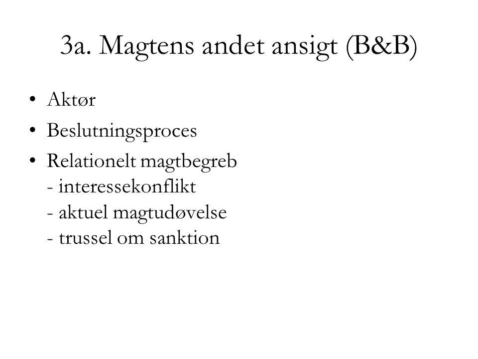 3a. Magtens andet ansigt (B&B)