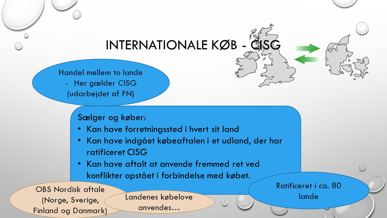 Internationale køb - CISG