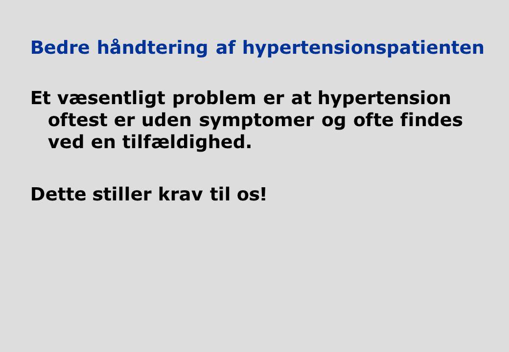 Bedre håndtering af hypertensionspatienten