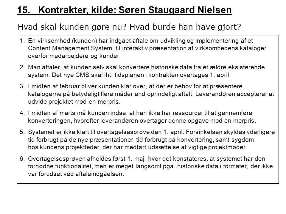 15. Kontrakter, kilde: Søren Staugaard Nielsen