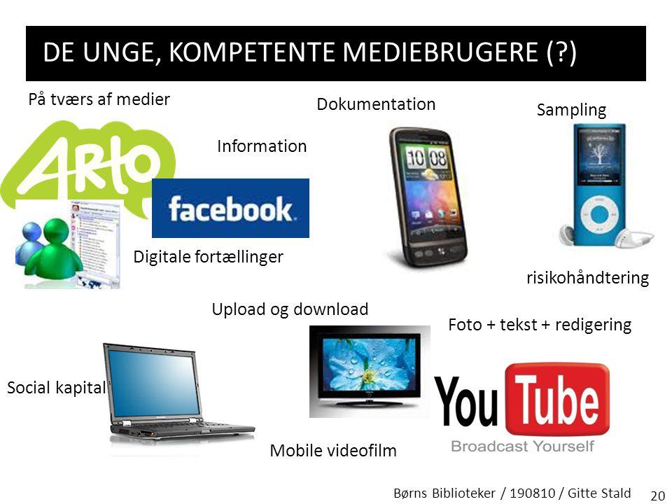 De unge, kompetente mediebrugere ( )