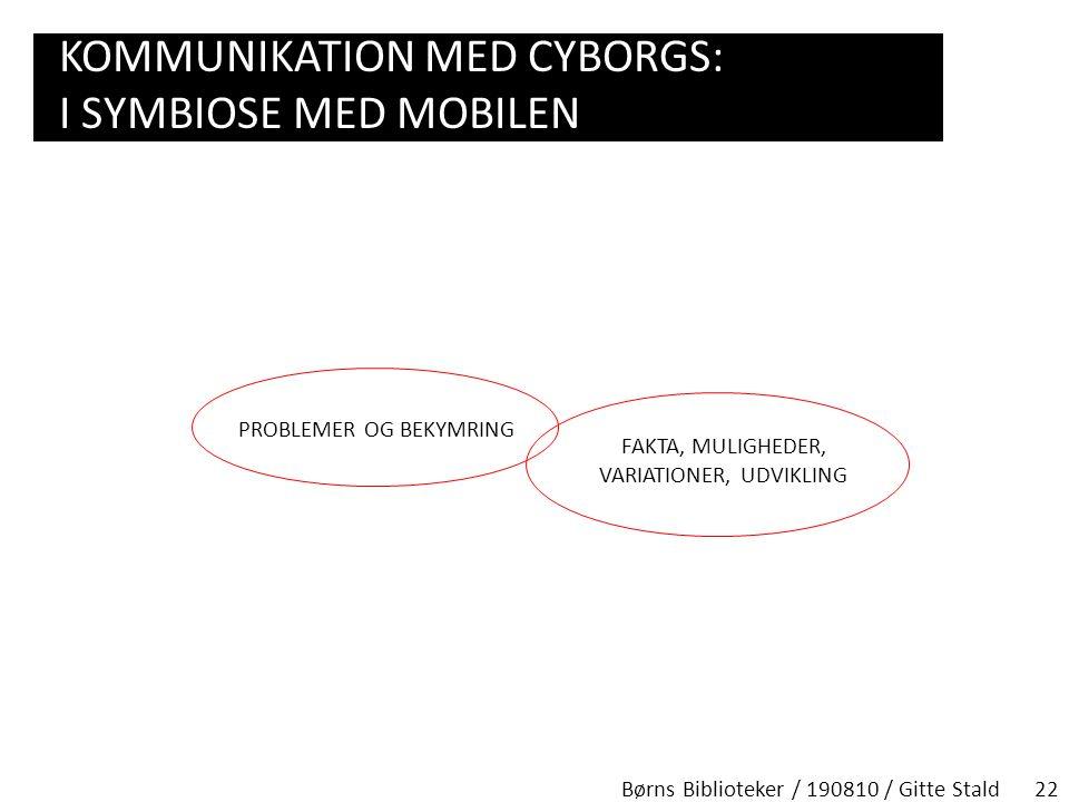 Kommunikation med cyborgs: I symbiose med mobilen