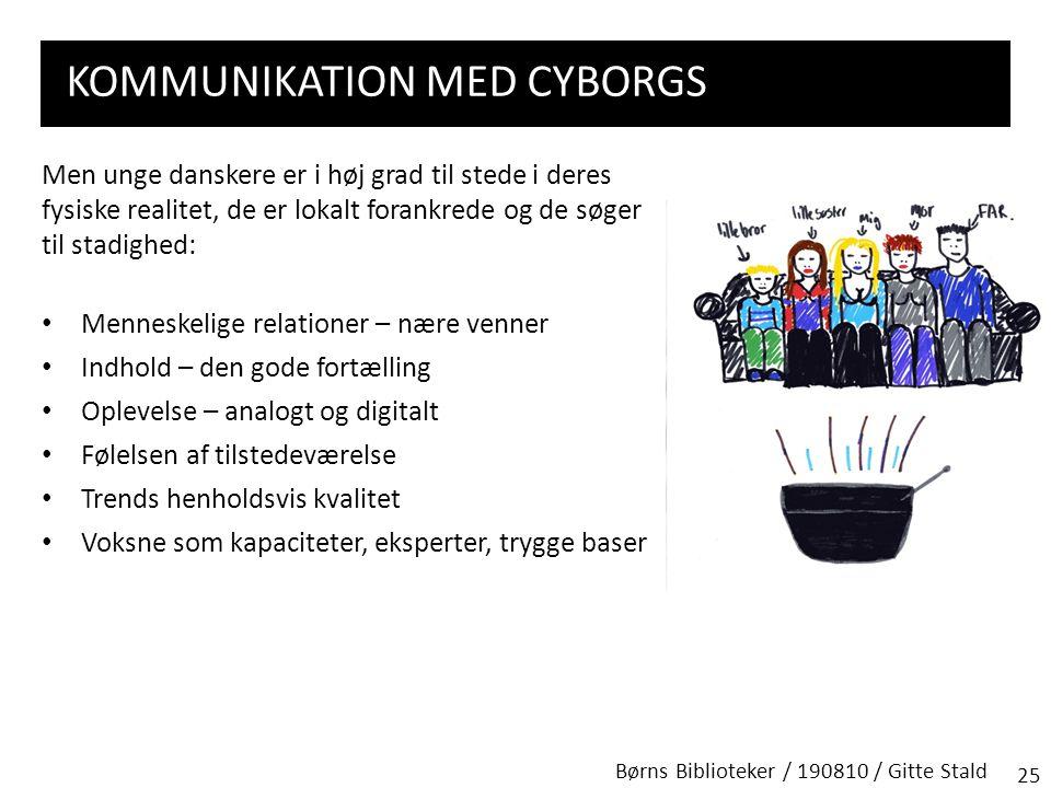 Kommunikation med cyborgs