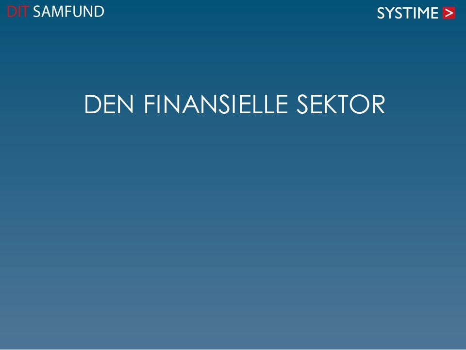 Den finansielle sektor