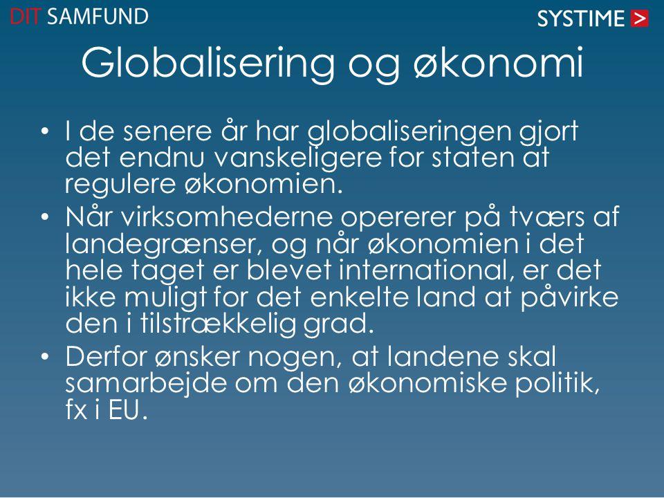 Globalisering og økonomi