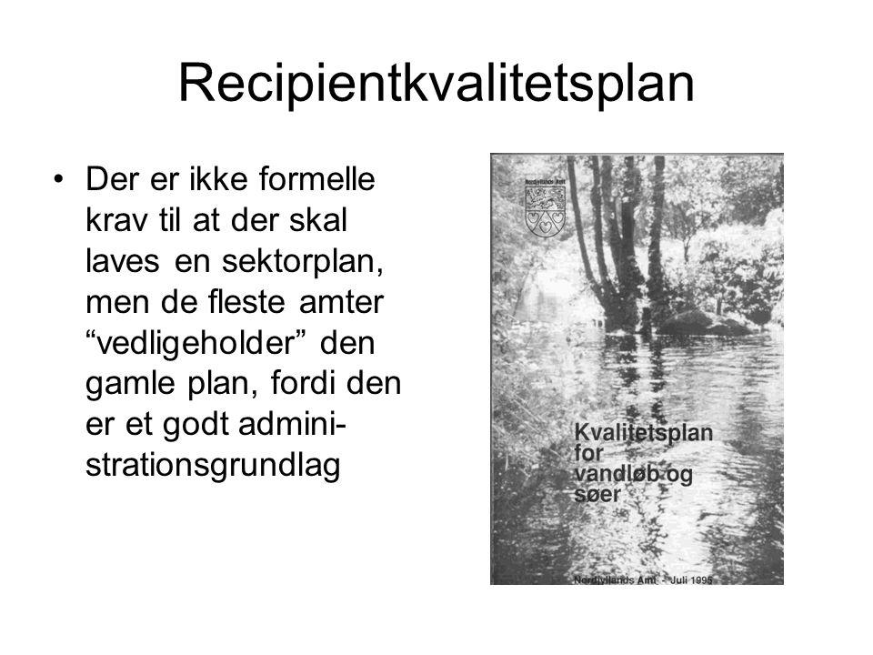 Recipientkvalitetsplan