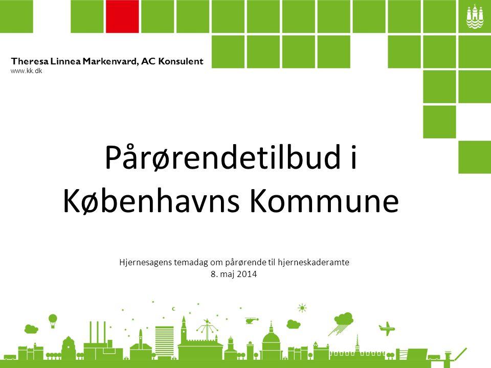 Pårørendetilbud i Københavns Kommune