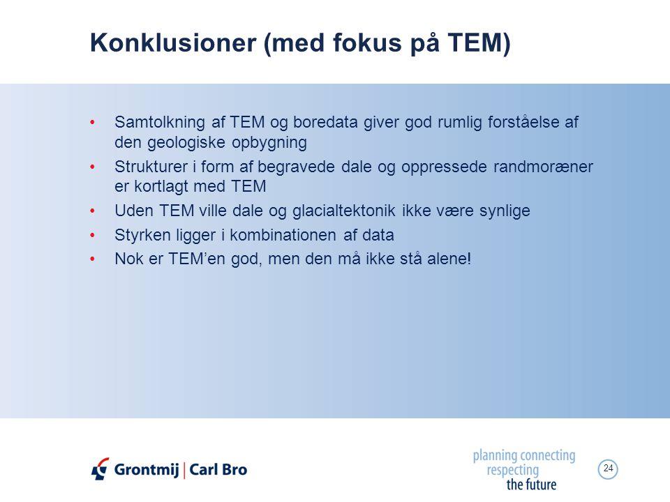 Konklusioner (med fokus på TEM)