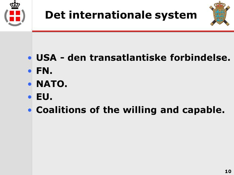 Det internationale system