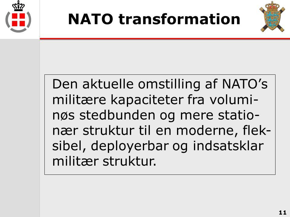 NATO transformation