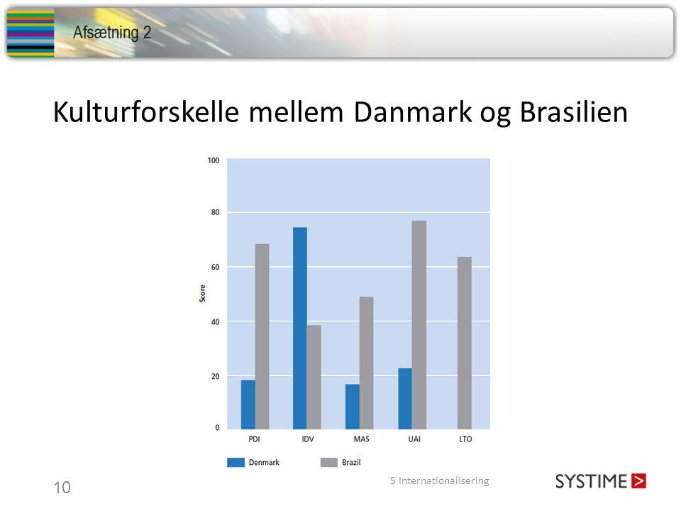 Kulturforskelle mellem Danmark og Brasilien