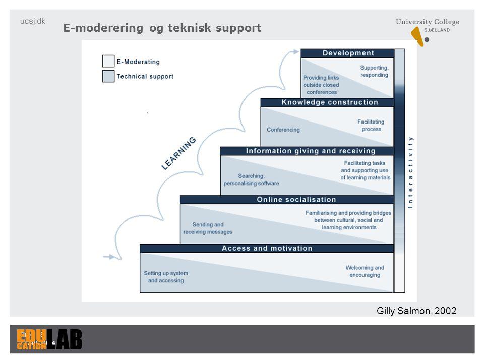 E-moderering og teknisk support