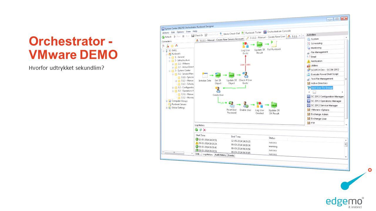 Orchestrator - VMware DEMO