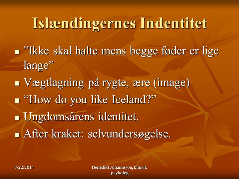 Islændingernes Indentitet