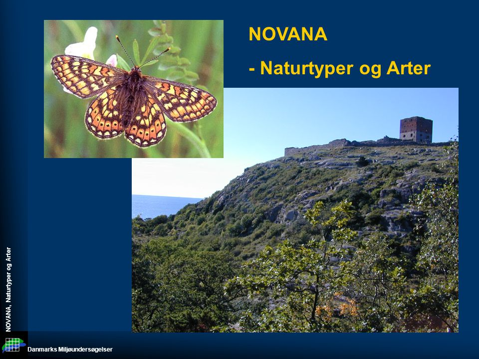 NOVANA - Naturtyper og Arter