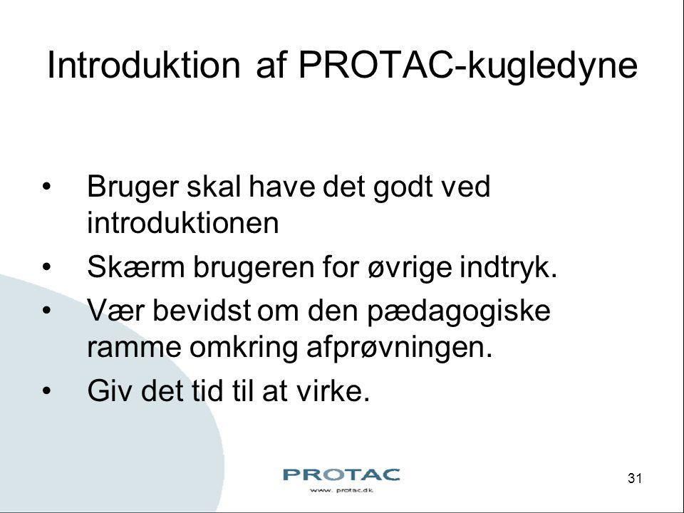Introduktion af PROTAC-kugledyne