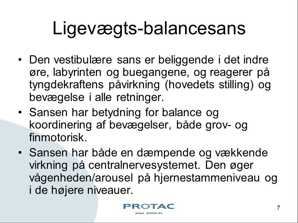 Ligevægts-balancesans
