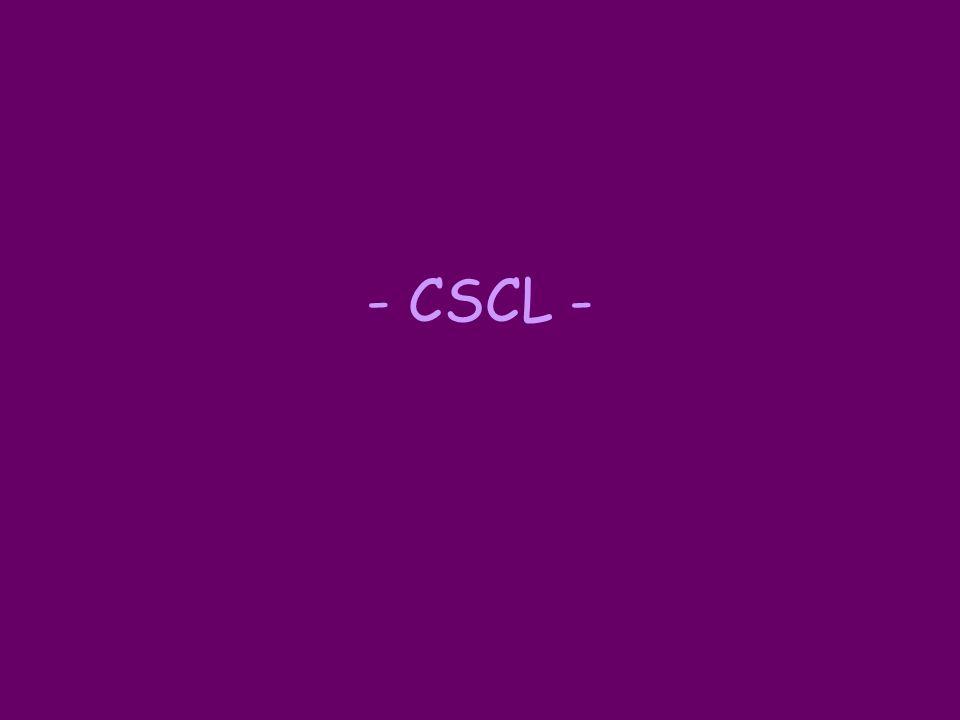- CSCL -