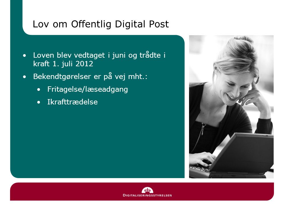 Lov om Offentlig Digital Post