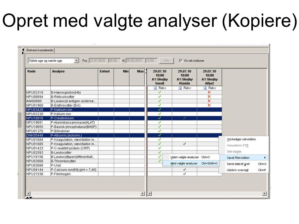 Opret med valgte analyser (Kopiere)