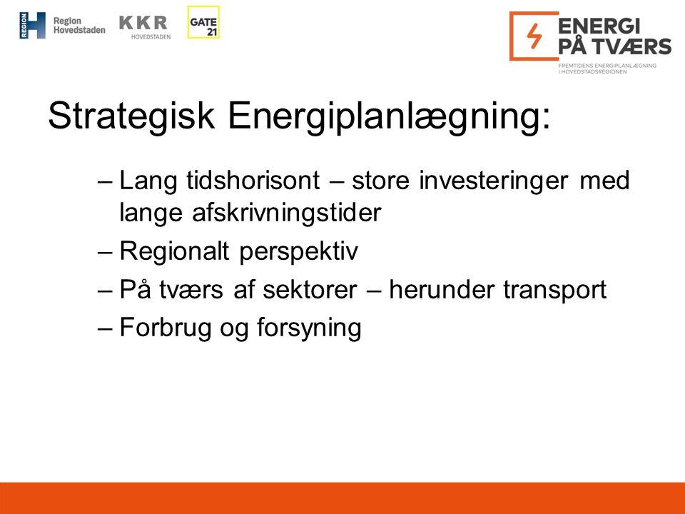 Strategisk Energiplanlægning: