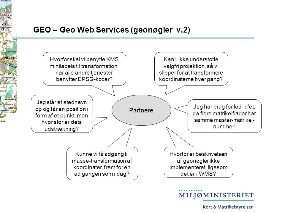 GEO – Geo Web Services (geonøgler v.2)