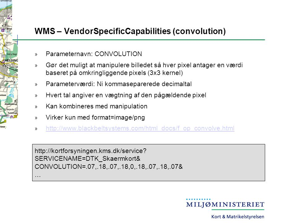 WMS – VendorSpecificCapabilities (convolution)
