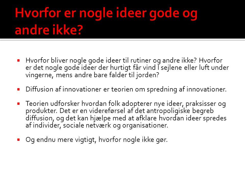 Hvorfor er nogle ideer gode og andre ikke