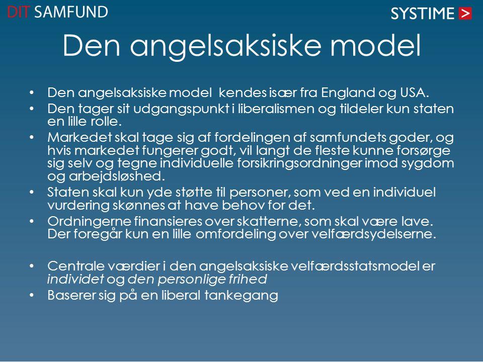 Den angelsaksiske model