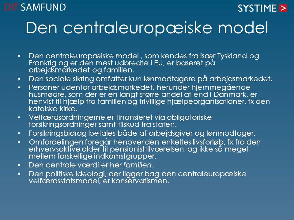 Den centraleuropæiske model