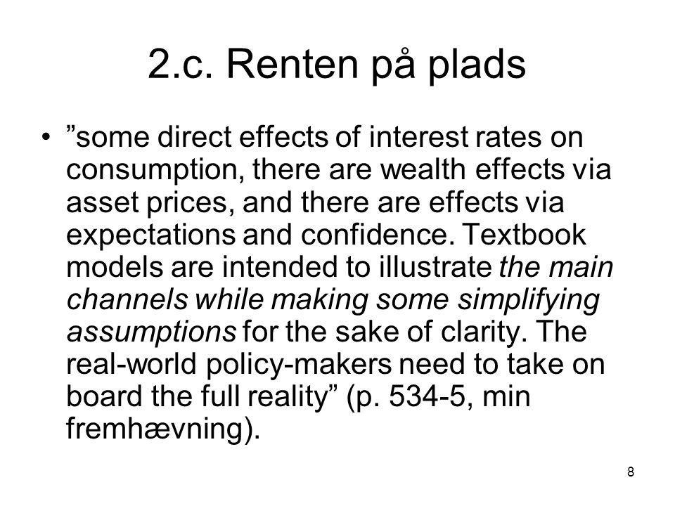 2.c. Renten på plads