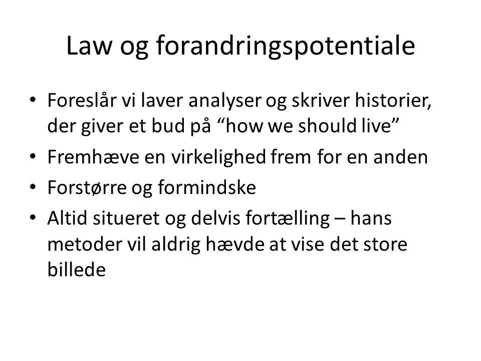 Law og forandringspotentiale