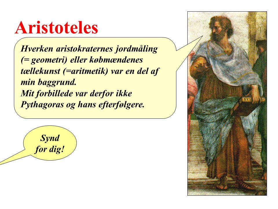 Aristoteles Hverken aristokraternes jordmåling