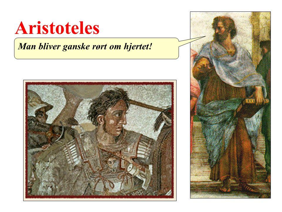 Aristoteles Man bliver ganske rørt om hjertet!
