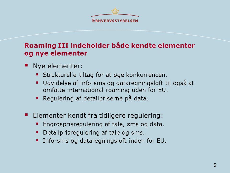 Roaming III indeholder både kendte elementer og nye elementer