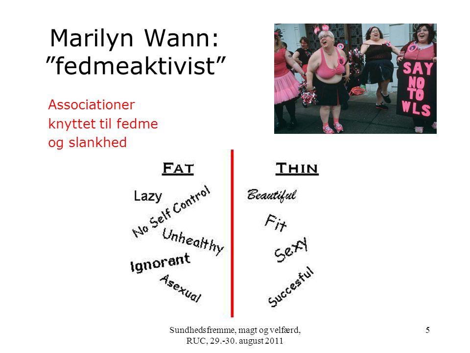 Marilyn Wann: fedmeaktivist