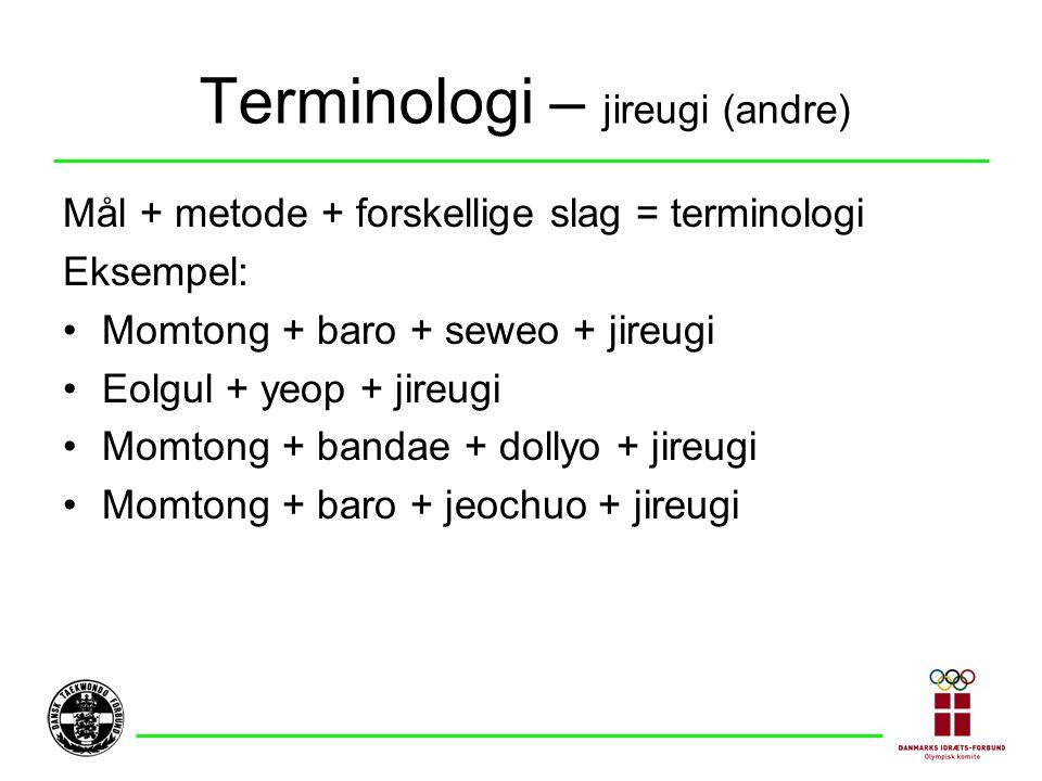 Terminologi – jireugi (andre)
