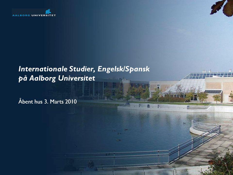 Internationale Studier, Engelsk/Spansk på Aalborg Universitet