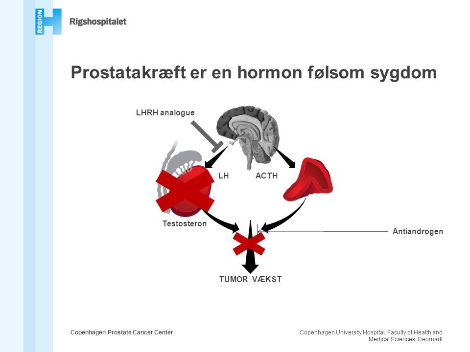Prostatakræft er en hormon følsom sygdom