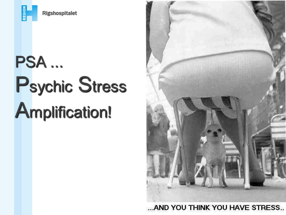 Psychic Stress Amplification!
