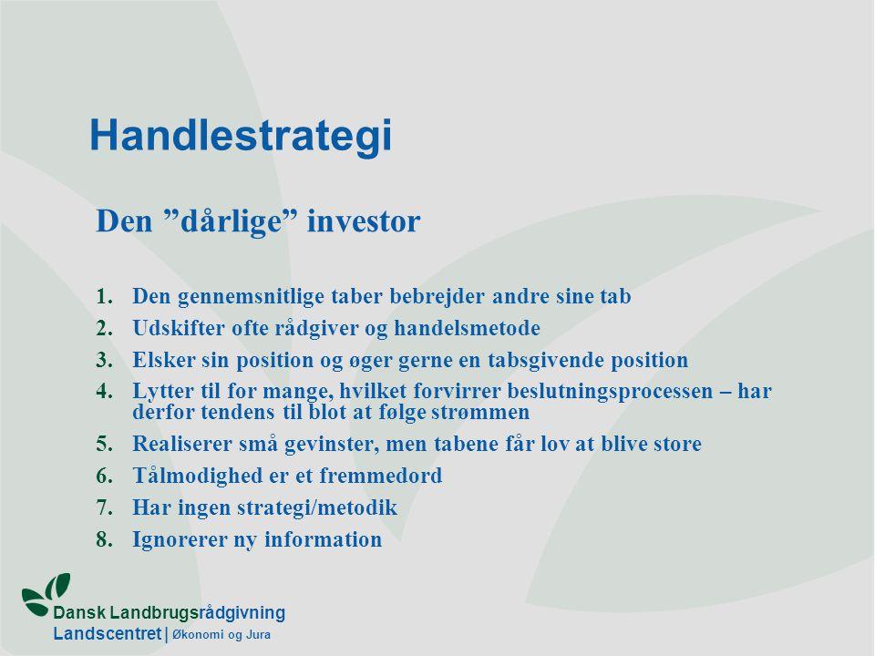 Handlestrategi Den dårlige investor
