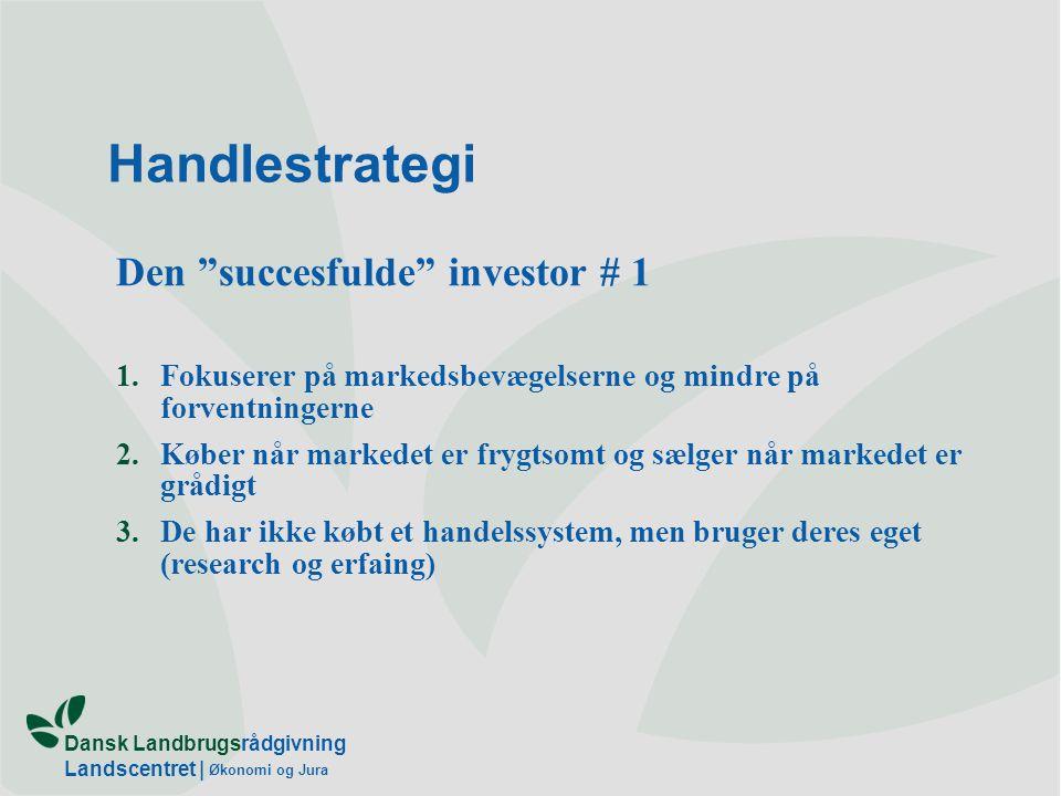 Handlestrategi Den succesfulde investor # 1