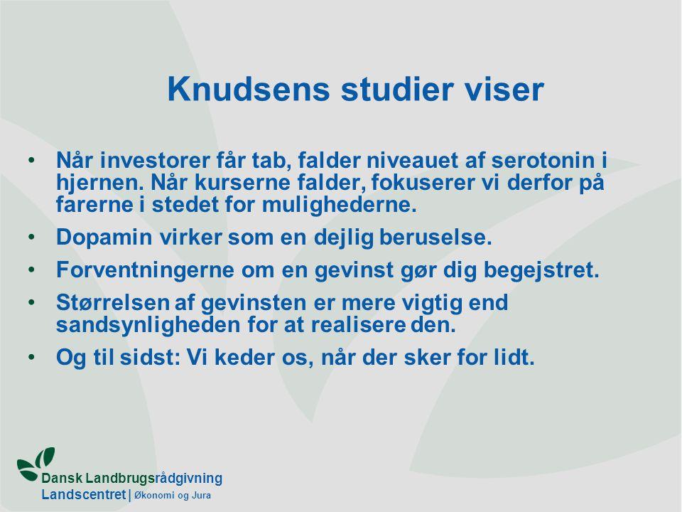 Knudsens studier viser