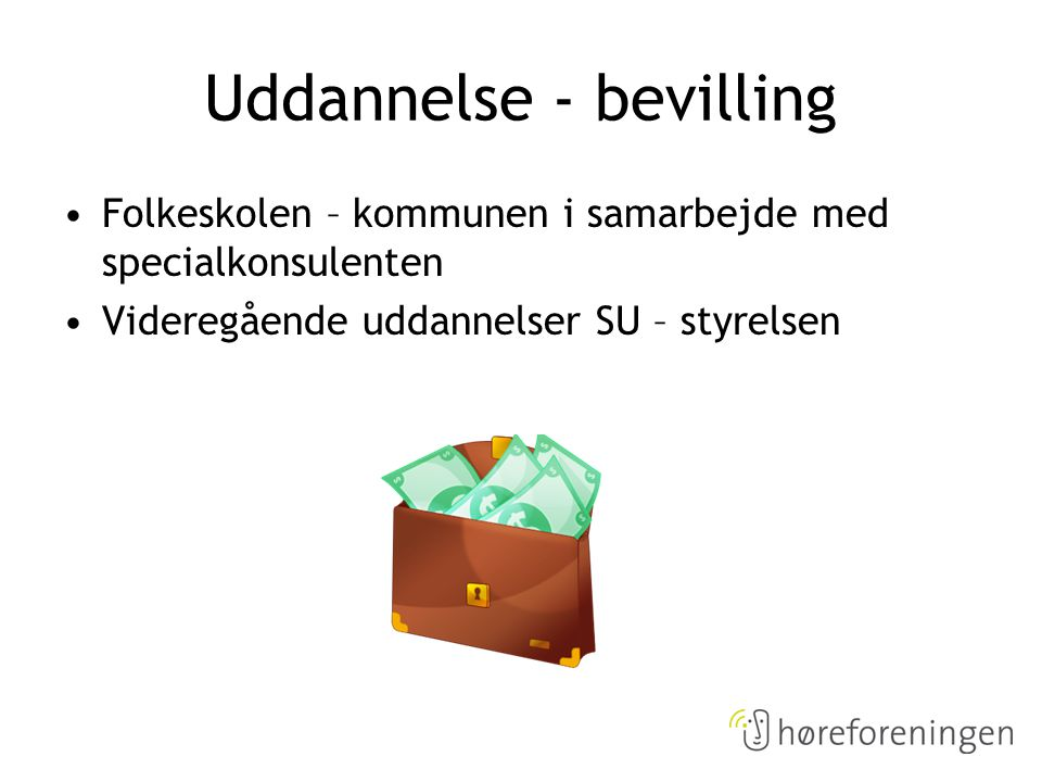 Uddannelse - bevilling