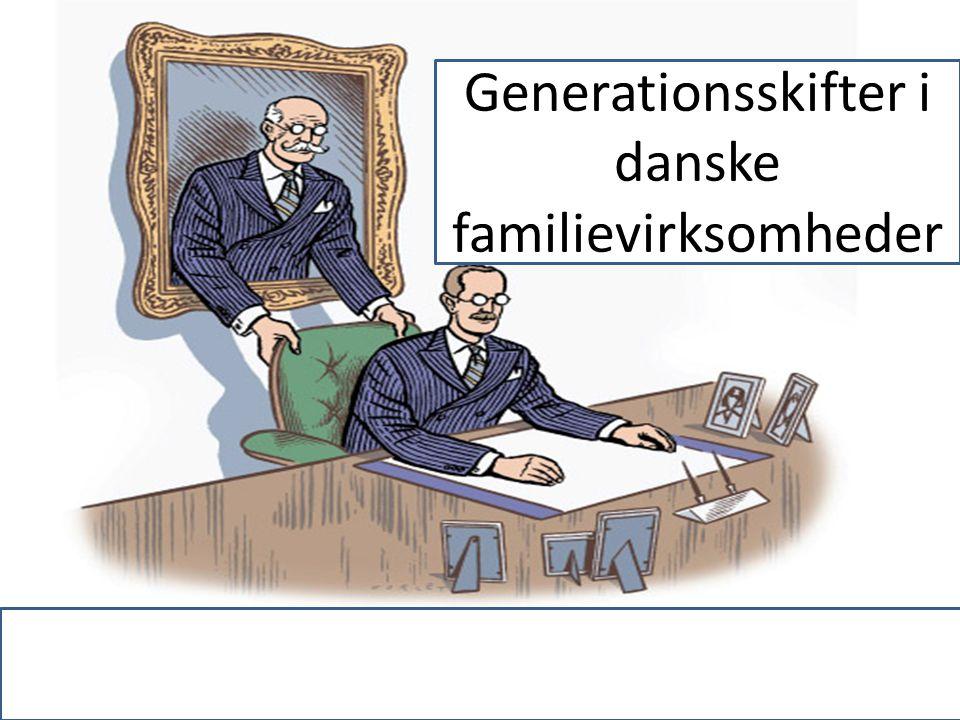 Generationsskifter i danske familievirksomheder