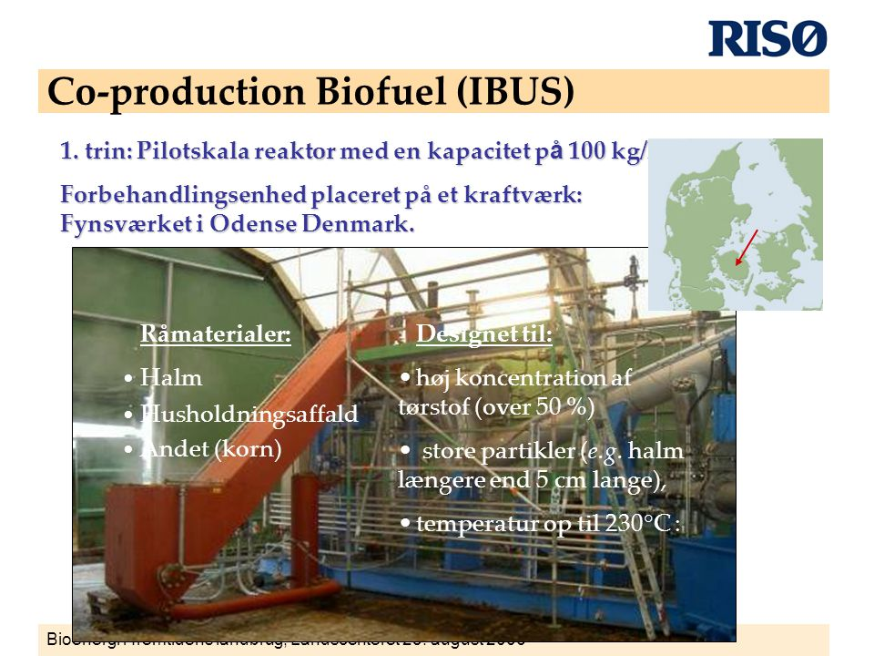 Co-production Biofuel (IBUS)