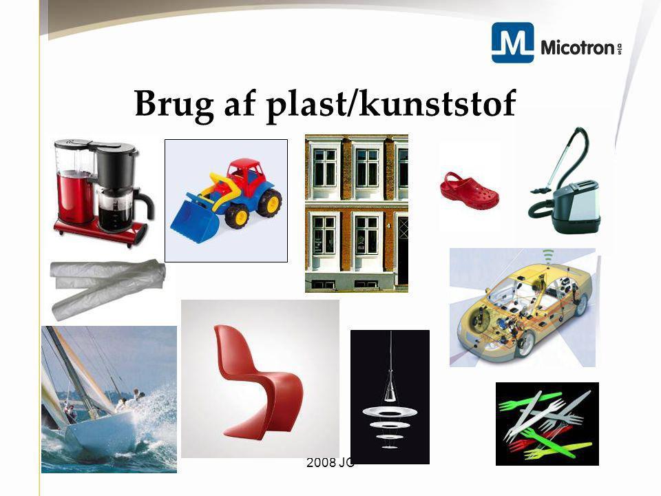Brug af plast/kunststof