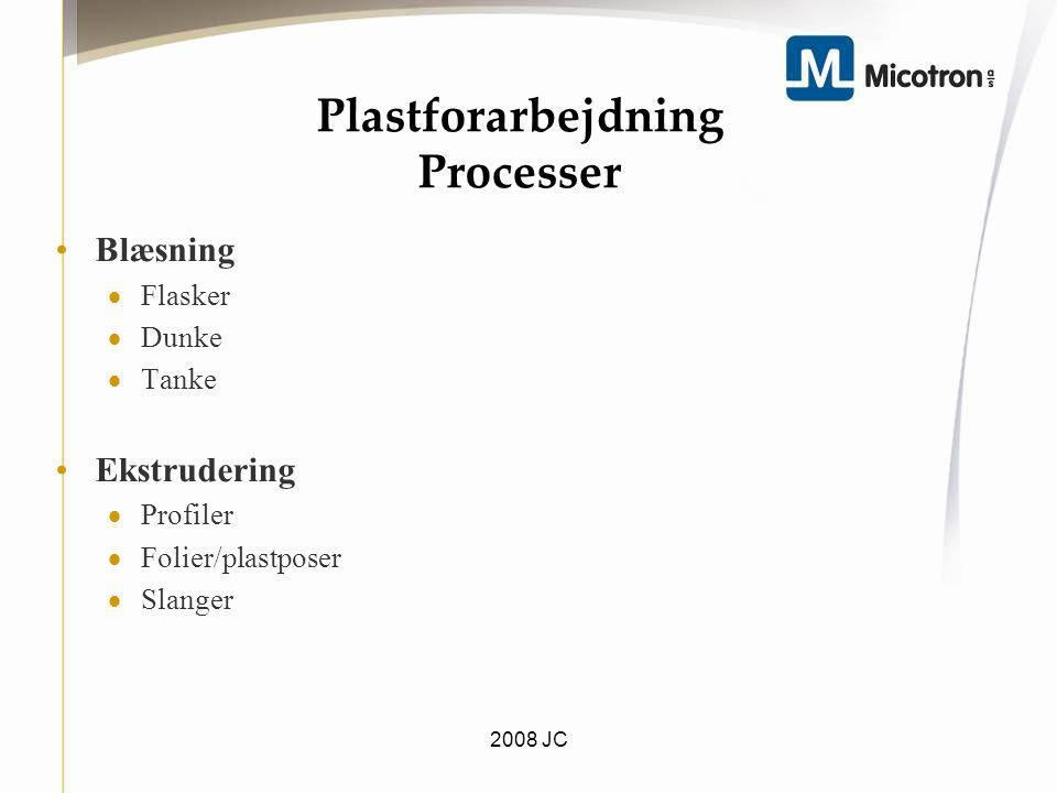 Plastforarbejdning Processer